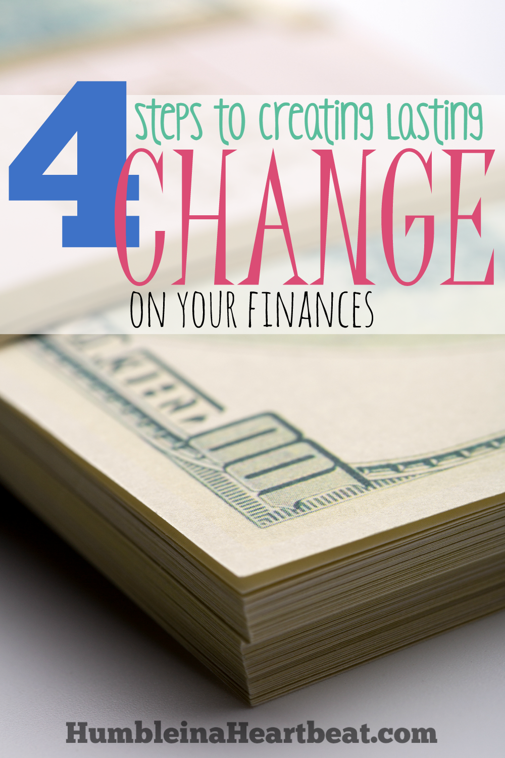 Your finances are not a roll of the dice. YOU have the power to create the change you need to reach your financial goals. Learn how to make lasting changes on your finances NOW so tomorrow you can be in a better situation.