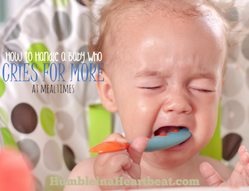 Solutions for a Baby Who Cries for More, More, MORE!