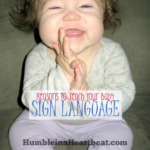 5 {Compelling} Reasons to Teach Your Child Baby Sign Language
