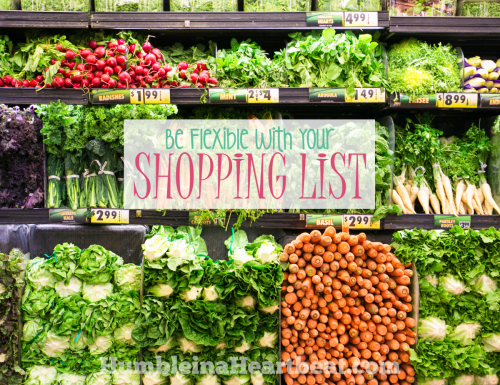 Don't Stick to Your Shopping List! (If You Want to Save More Money on Groceries)
