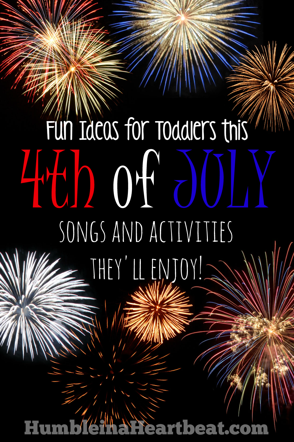 Toddlers can be overwhelmed with all the fireworks, parades, and gatherings for the 4th of July. Make it easier on them by sharing the importance of the day through song and doing activities they will enjoy throughout the month!