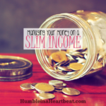 How to Manage Your Money on a Slim Income