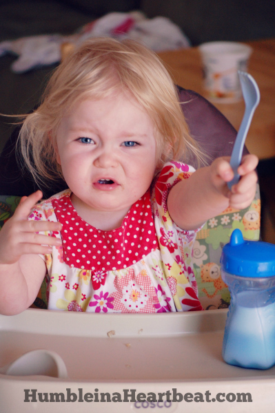 Sometimes babies and toddlers can be hungry, hungry hippos. Here are some ways to deal with a baby who cries for more food at mealtimes.