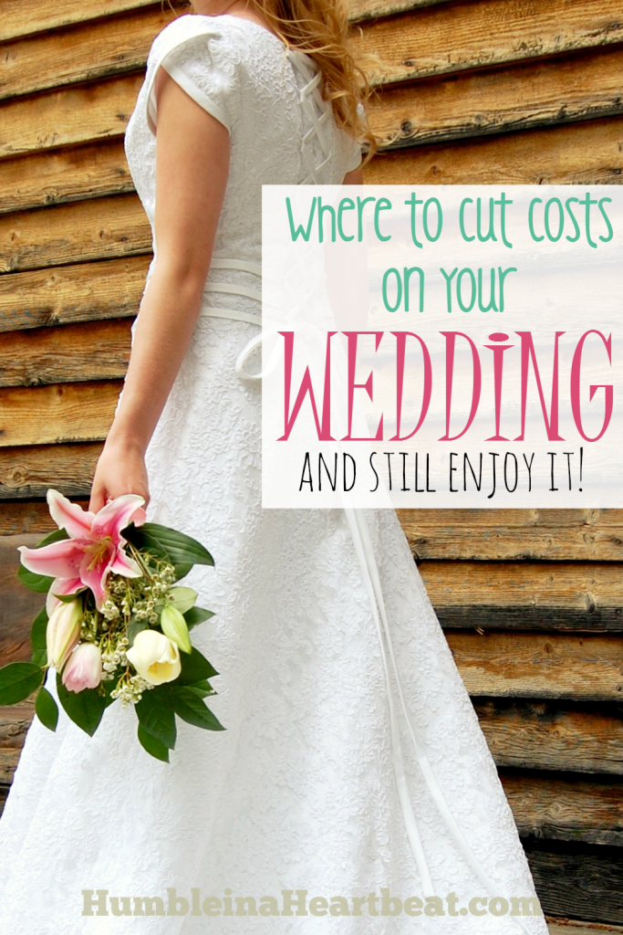 Your wedding can still be tons of fun and really special even if you don't take out a loan to pay for it! Instead of worrying about all the money you need to spend on your wedding, here are several ways you can cut costs.