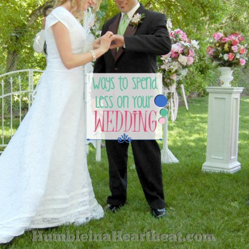 Our Cheap, Cheap Wedding