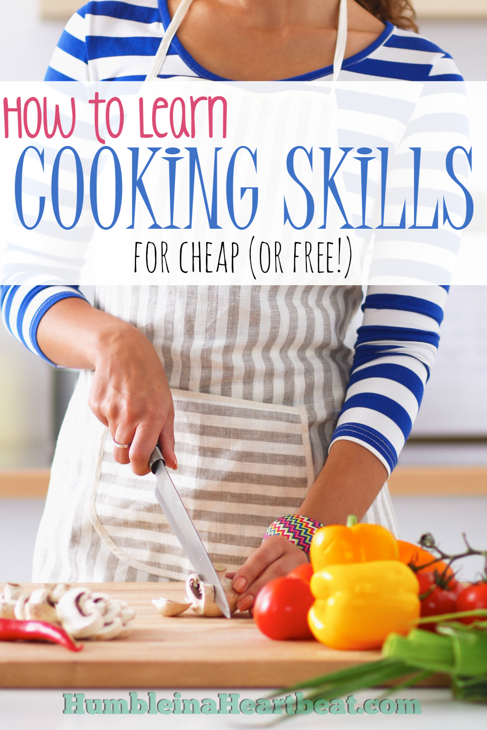 There are so many ways you can learn how to cook from the comfort of your own home. All of the resources mentioned are either free or extremely cheap.