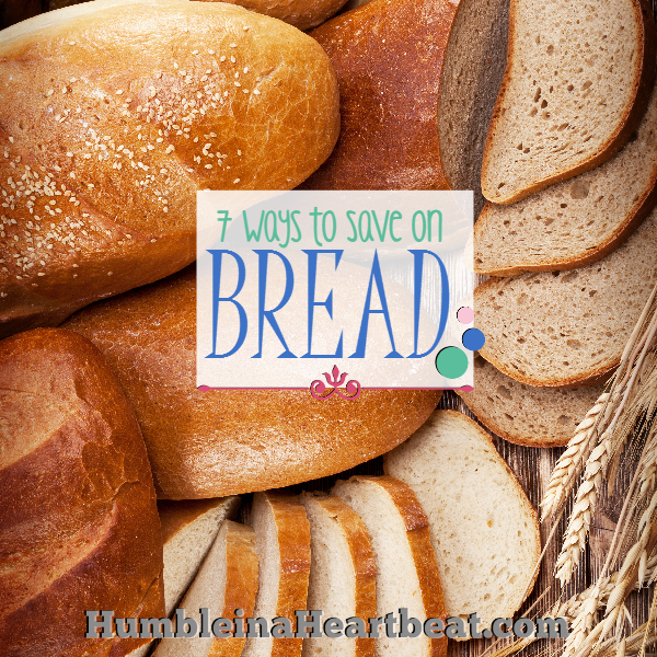 Buying or making bread each week can get expensive unless you know of some ways to save. Enjoy your bread without the added cost!
