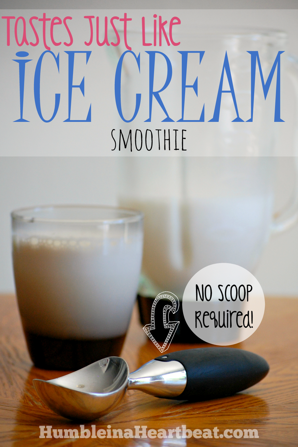 This smoothie tastes just like ice cream, hence the name. You can make it to your liking with different fruit and extracts. What a delicious way to enjoy ice cream on a hot summer day!