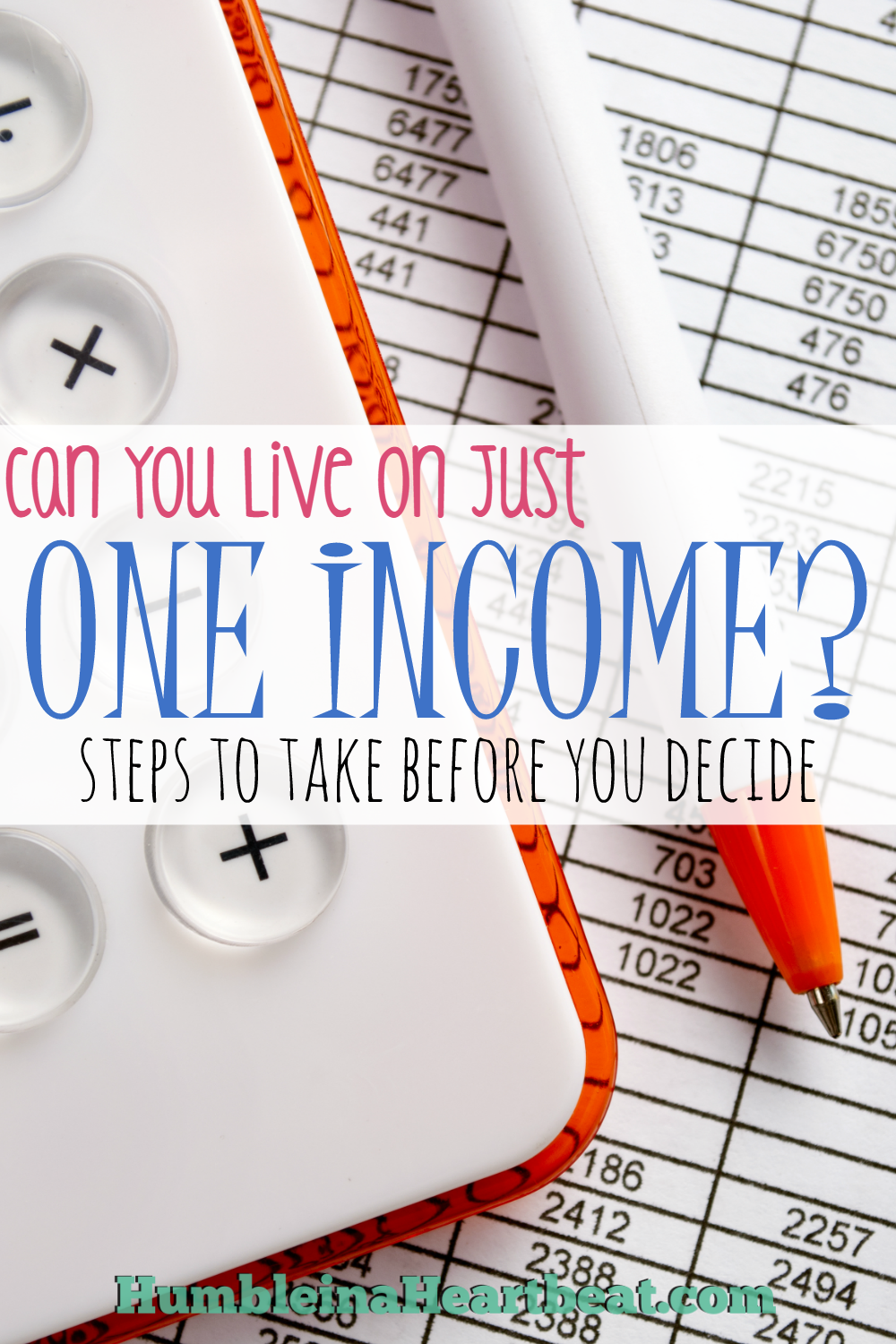 Not sure if you can go from two incomes to one? Before you take the plunge, evaluate your expenses and how they might change when you are down to just one income. This post can guide you in doing that.