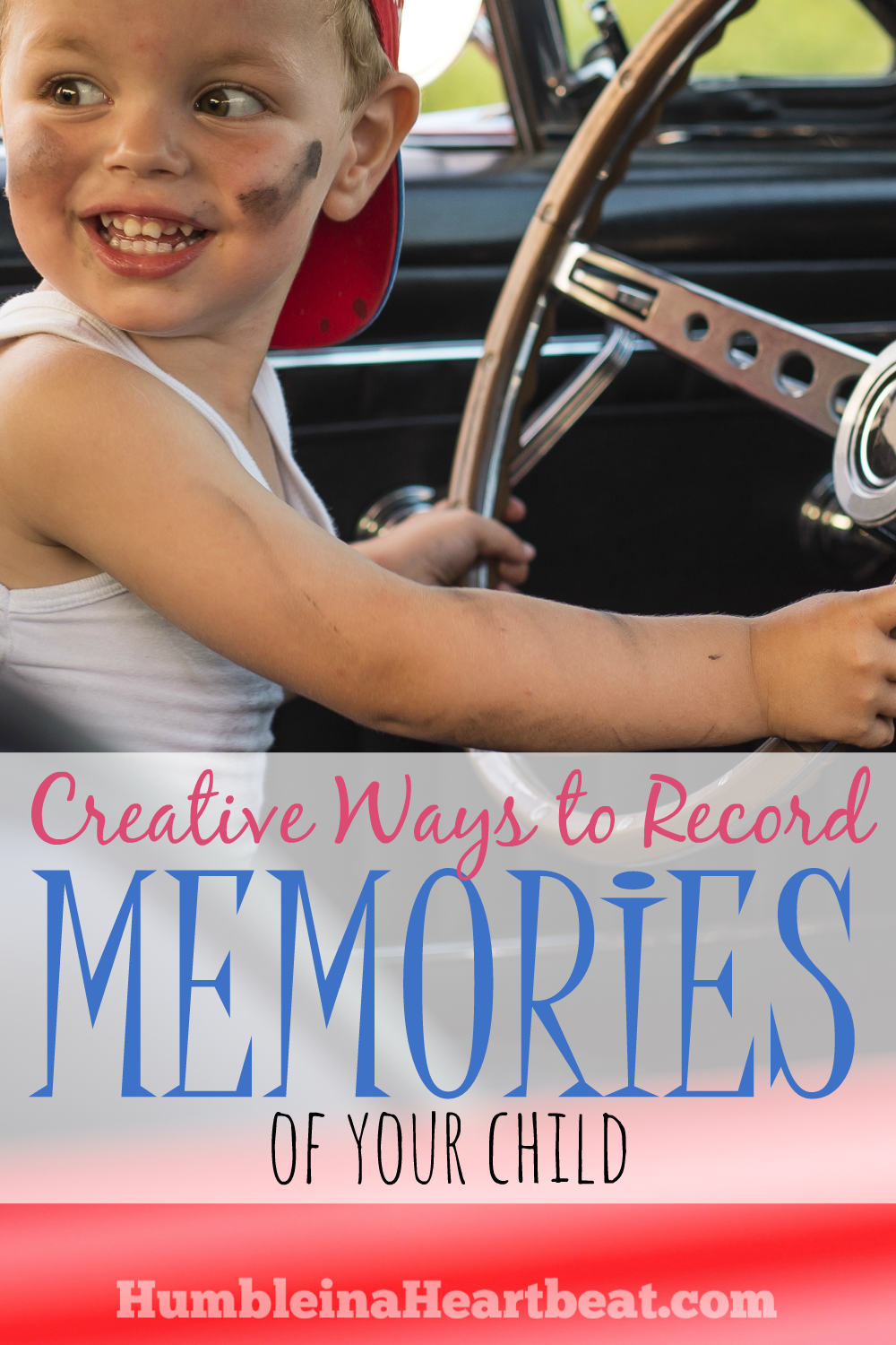 Life passes by so quickly, so take time now to record important memories of your child's life. You may have never even considered some of these ideas!