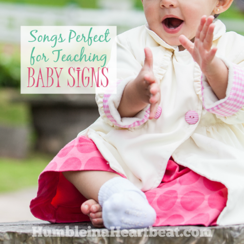 8 Songs that Are Perfect for Teaching Baby Signs