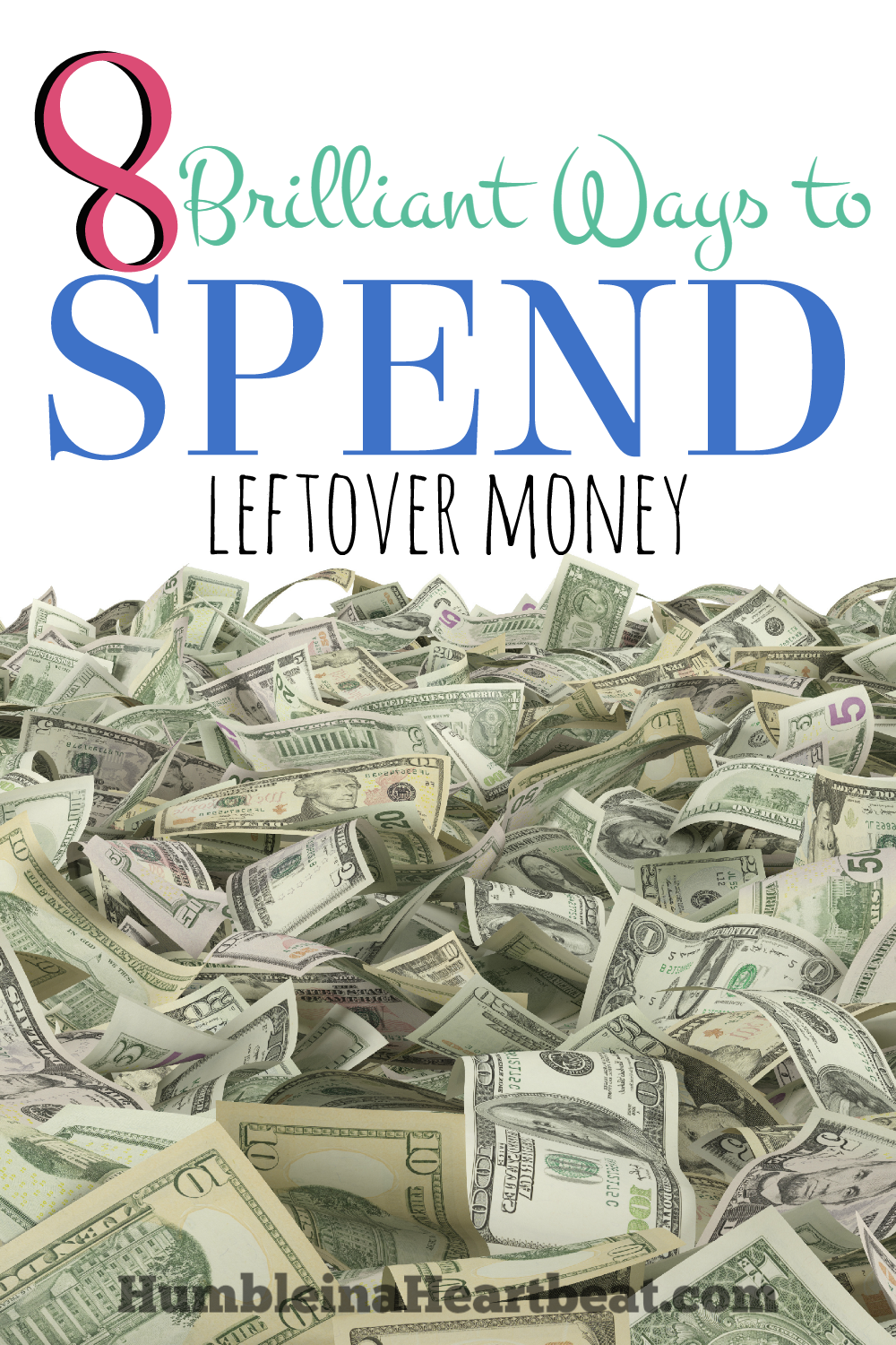 When you have leftover money each month, what do you do with it? These ideas are absolutely brilliant because they each improve your way of life without adding clutter.