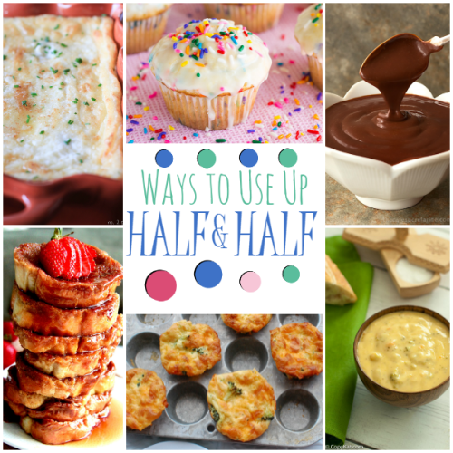 19 Yummy Ways to Use Up Half and Half