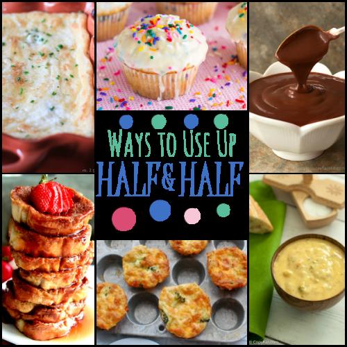 19 Yummy Ways to Use Up Half and Half
