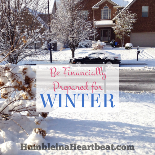 How to Prepare Financially for Winter