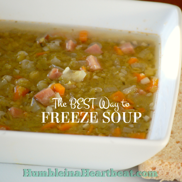 The Absolute Best Way To Freeze Soup Humble In A Heartbeat