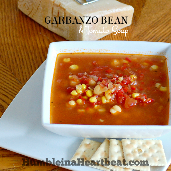 Garbanzo Bean and Tomato Soup