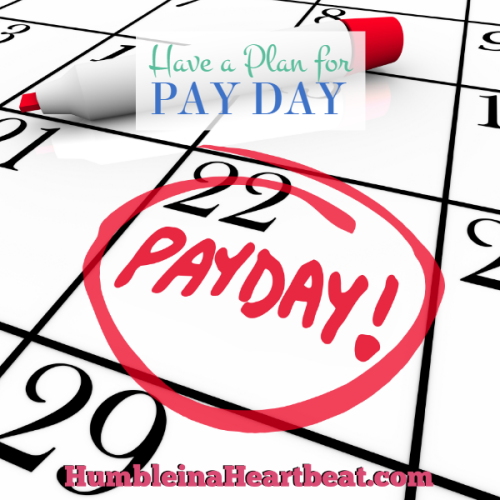 4 Things You Should Do Each and Every Pay Day