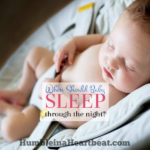 Should Your Baby Sleep Through the Night at 6 Weeks?