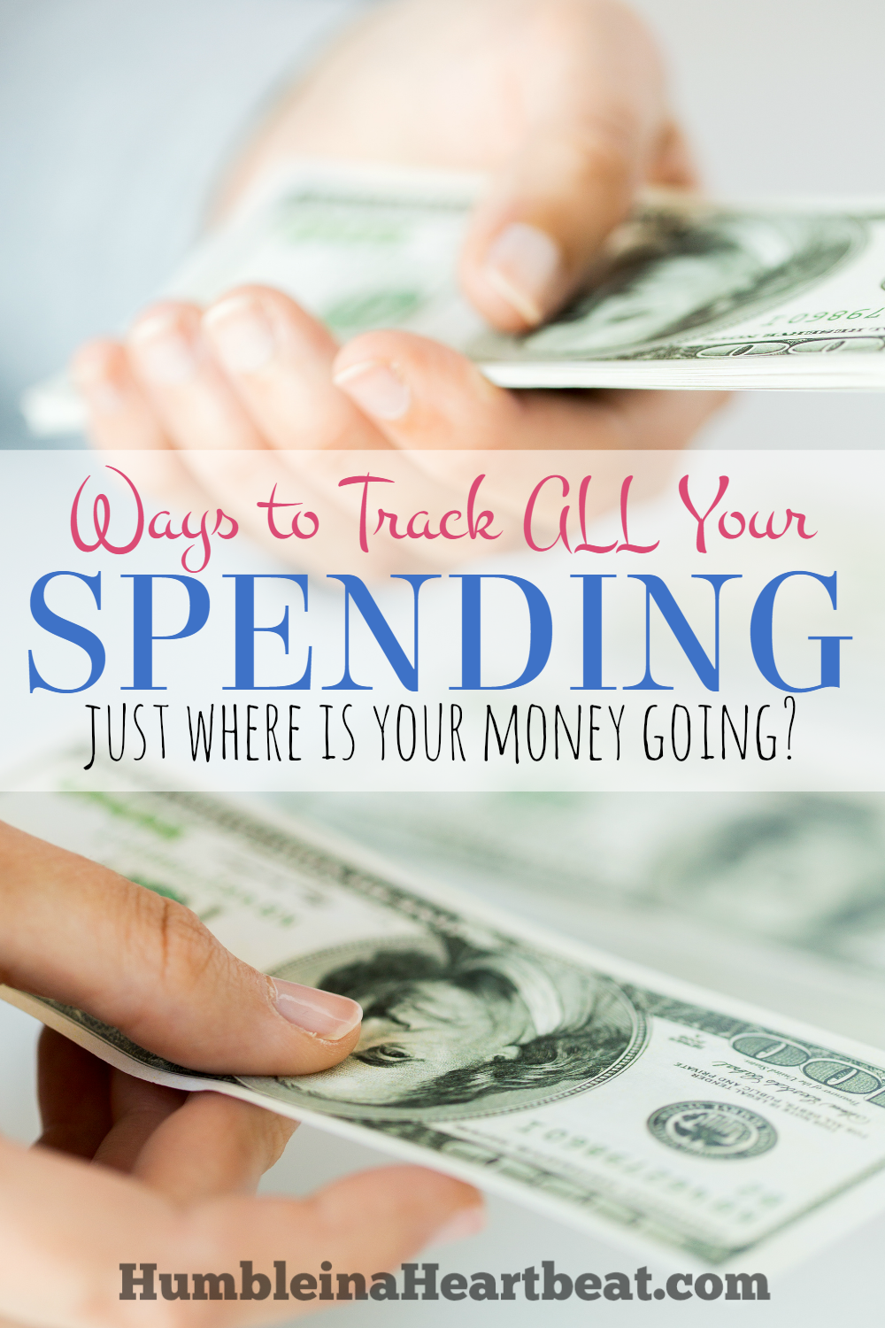 You can't budget unless you know what's going on with your money. All your spending should be tracked, and here are 4 simple ways to do that.