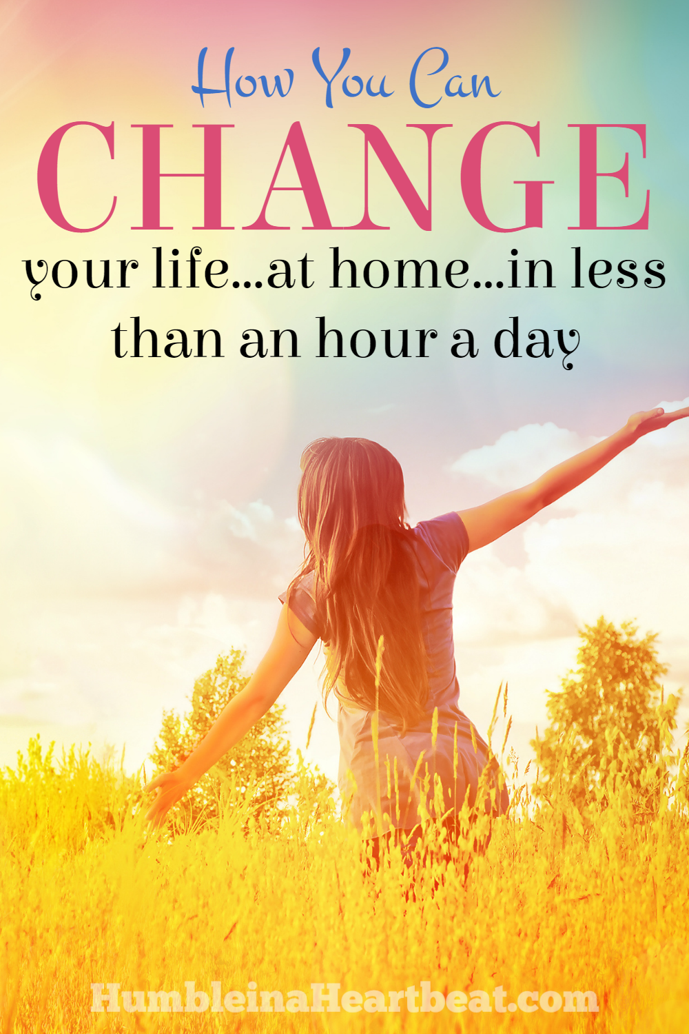 You might think that because you are a stay-at-home mom or otherwise stuck at home that you cannot do anything with your life. But that's just not true! You can change your life little by little without ever leaving your home!