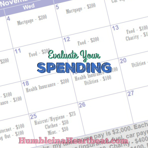 How to Use a Calendar to Evaluate Your Spending