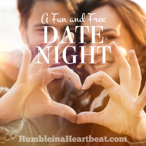 Mix and Match Love Language Date {Completely FREE and At Home!}