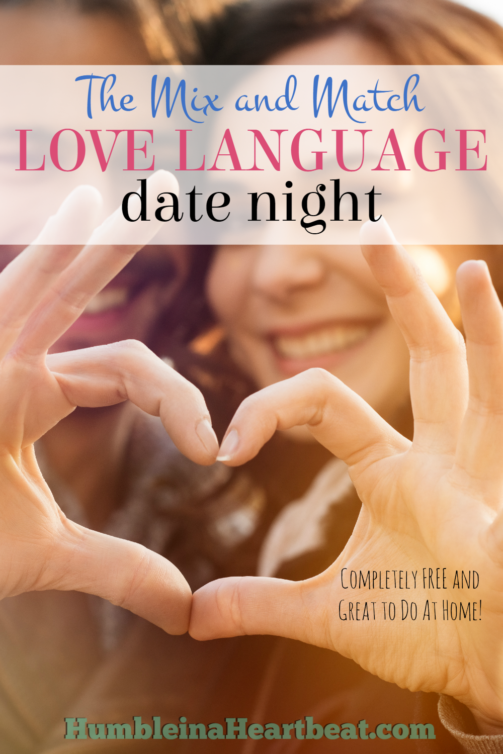 This fun and free love language date night can be done over and over and never get old! Plus, you won't have to find a babysitter and you can do it all for absolutely FREE!