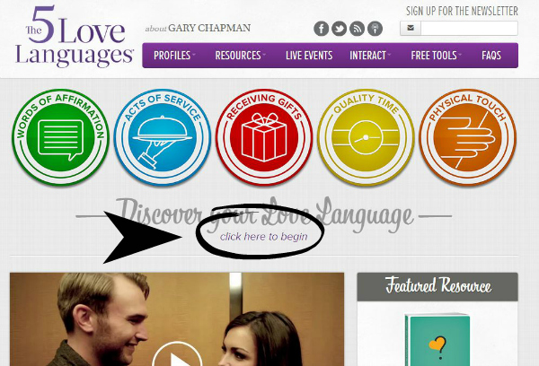 5 Love Languages Quiz