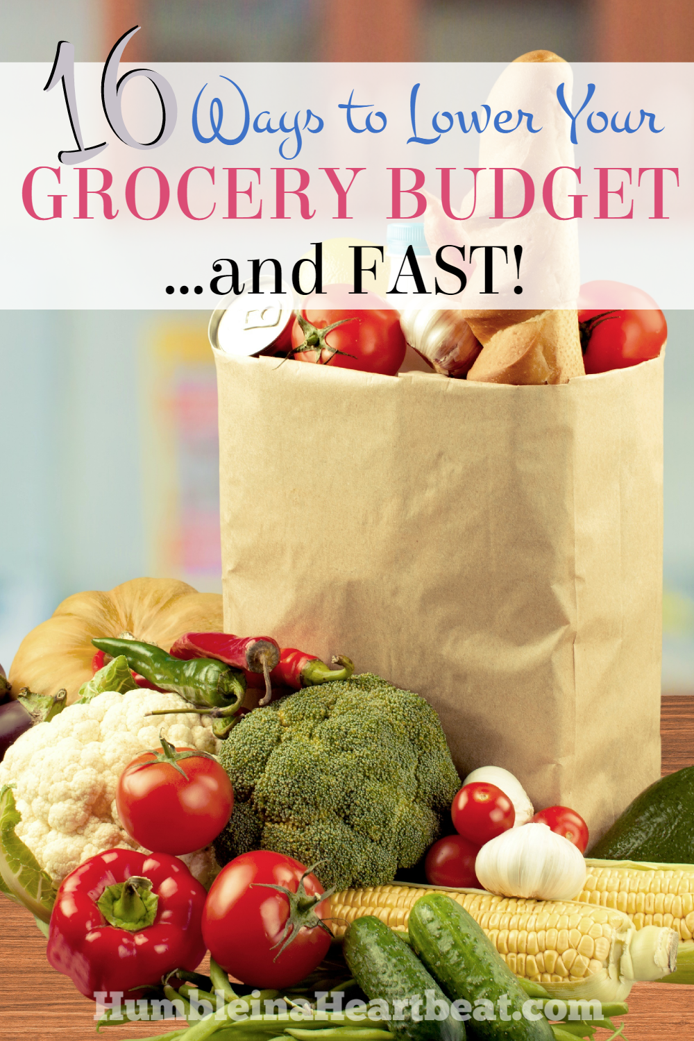 If you find yourself in a tight spot and need to lower the amount of money you spend on food, these 16 ways to save on groceries can help you out right now!
