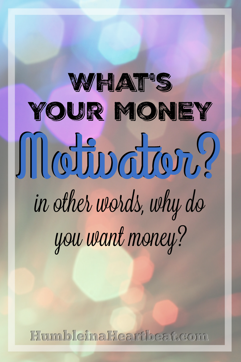 is money a motivator Money is a motivator at work that is a fact but it does not add value to the job in conclusion, we strongly believe that money is indeed the biggest motivator in the workplace based on the points and statements above, we can clearly see that money is indeed the important factor that motivates people at the workplace.