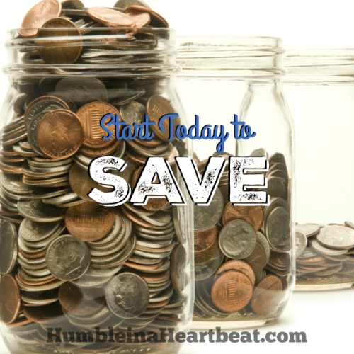 Put Your Money Where Your Mouth Is and Save!