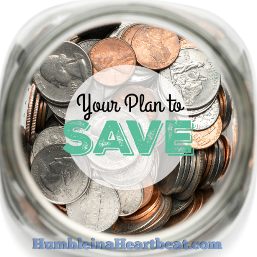 Journal Day: A Plan for Your Savings