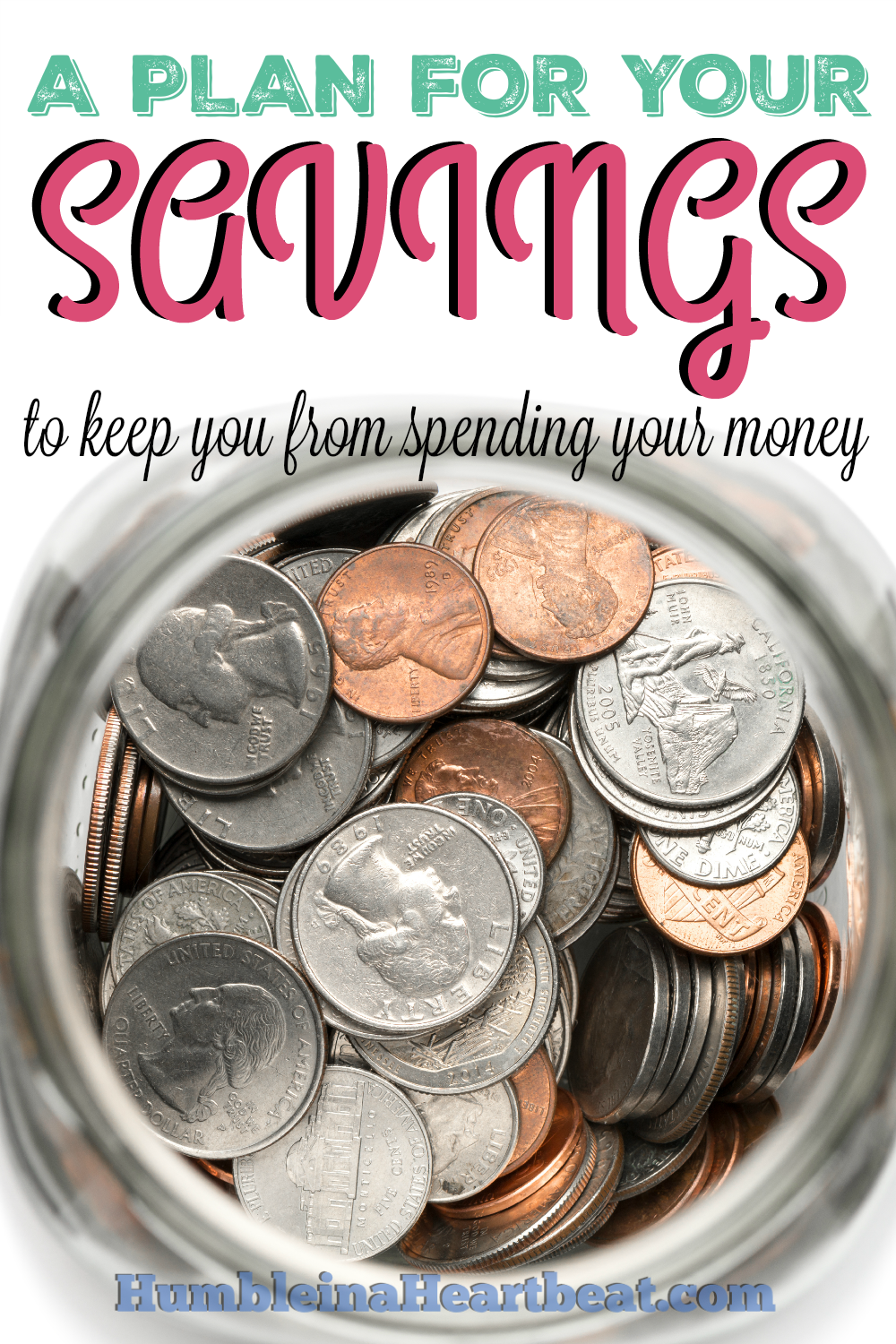 Unless you know what you want to do with your money, you will likely just spend it every.single.time. So make a plan to save that money and start seeing progress with your goals!