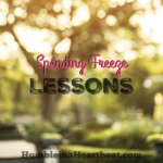 4 Lessons Learned from the Spending Freeze Challenge