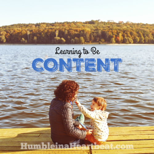Learning How to Be Content without Buying More