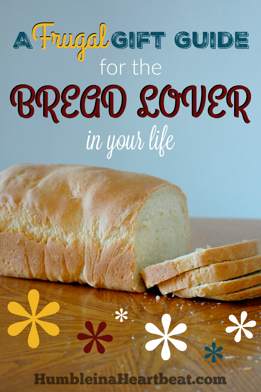 Know someone who loves making bread? This gift guide will help you pick out something to give to them. Everything's under $25!