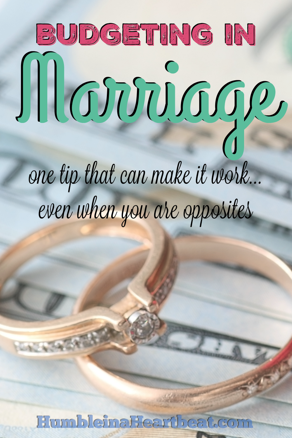 Have you had to deal with money issues in your marriage? You can work through these issues and have less conflict by simply doing one thing. It works for my marriage, and I'm sure it can work in yours.