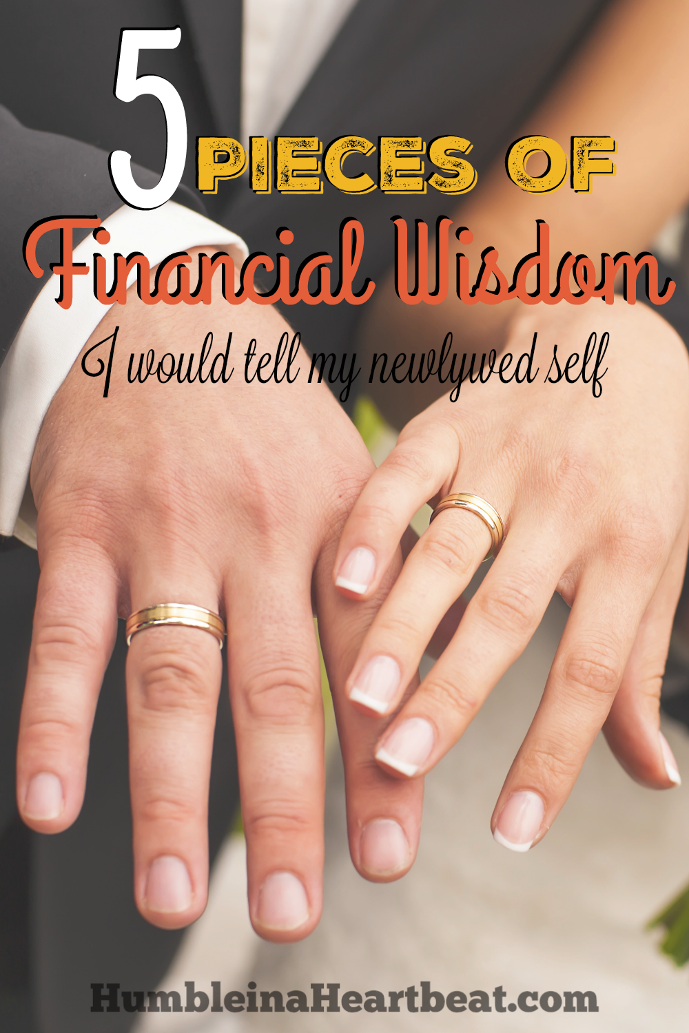 Most couples make at least a few financial mistakes throughout their marriage. If I could write a letter to myself as a newlywed, these are the 5 pieces of financial wisdom I would share to avoid big mistakes.
