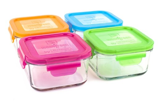 Glass Freezer Containers
