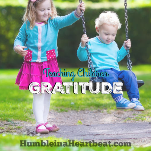 The Best Way to Teach a Child Gratitude