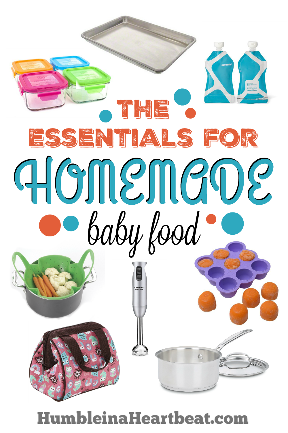 Ready to start making baby food for your little one? Don't get roped into buying too many gadgets that you won't actually use for very long. These are the essentials and you probably have many of them at home.