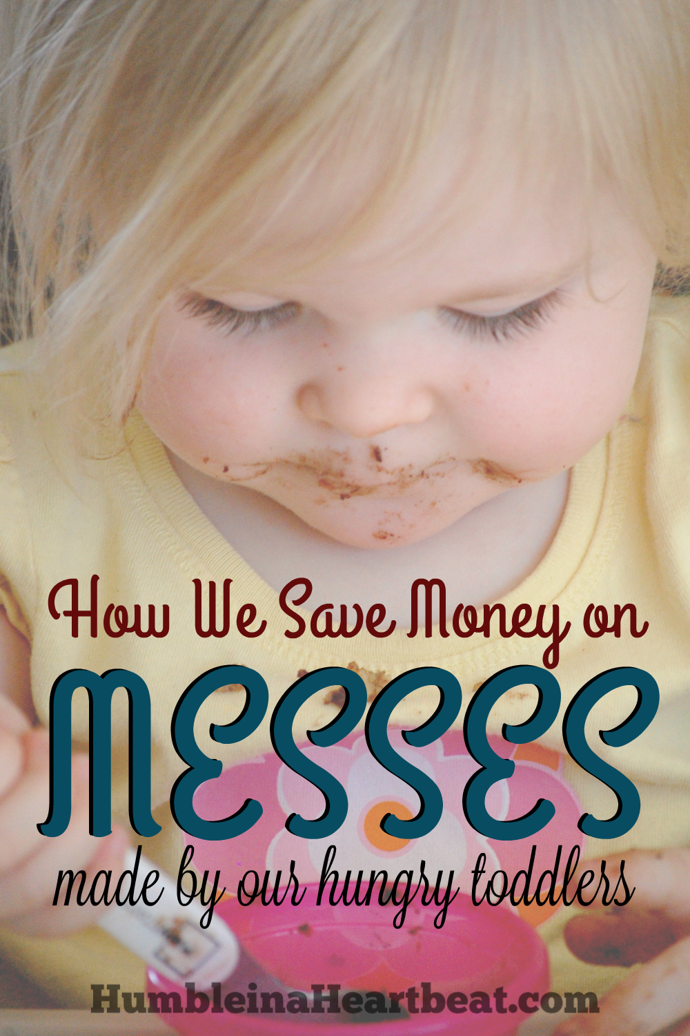 Messes, messes, messes galore! Kids at the dinner table mean plenty of food everywhere except their mouths! Here's how we stopped buying so many paper towels to clean those messes up and saved ourselves $105 each year.