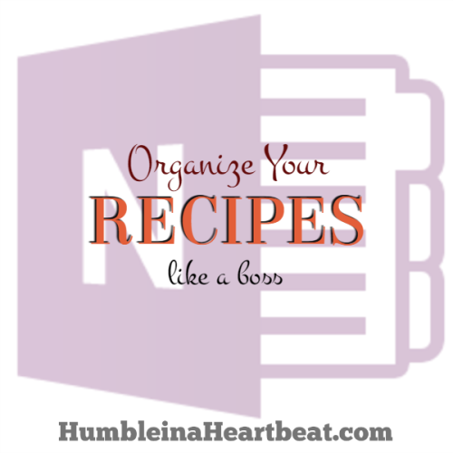 How to Use OneNote to Organize All Your Recipes