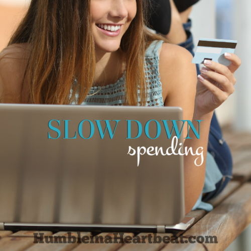 An Amazing Way to Slow Down Your Spending