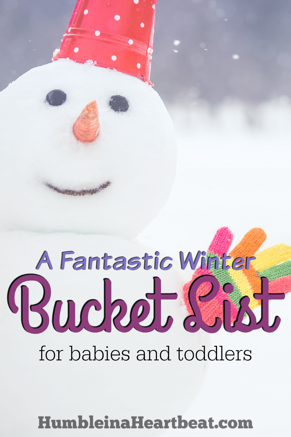 Babies and toddlers love the magic of winter, so don't let the season pass by without taking them outside to enjoy the snow!