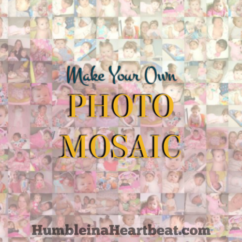 How to Make a Mosaic of Your Favorite Picture