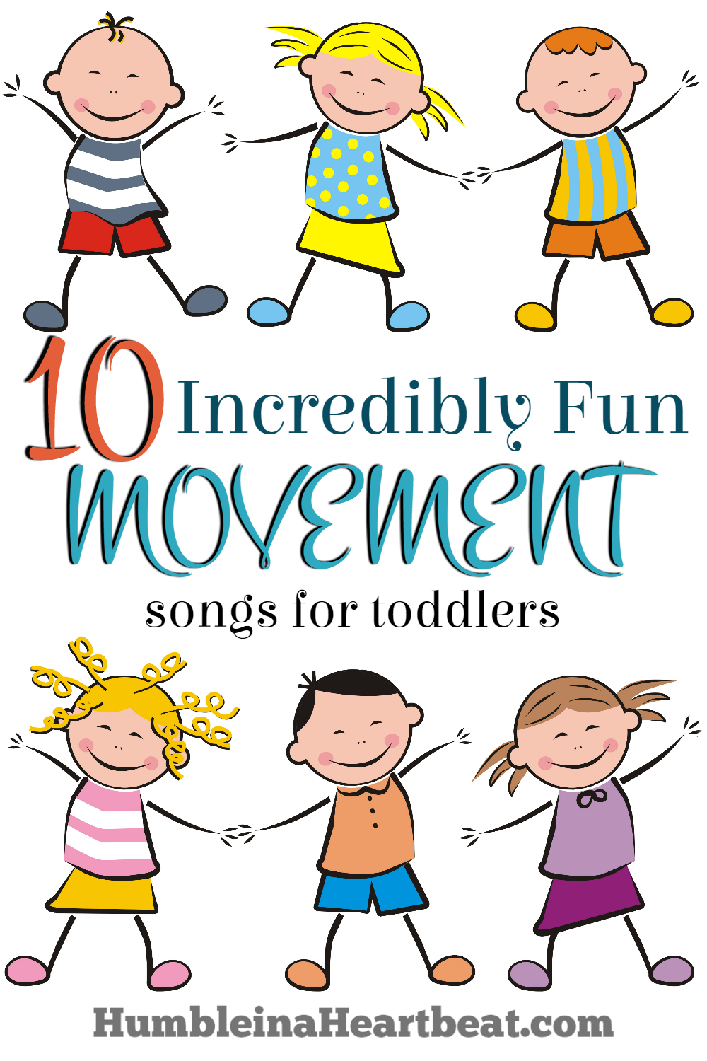 10 Fun Movement Songs For Toddlers On Youtube Humble In