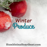 Eating in Season: Winter Edition
