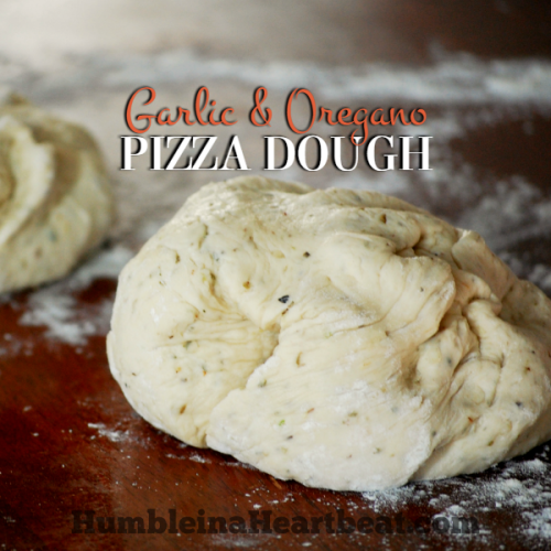 The Best Fool-Proof Garlic & Oregano Pizza Dough